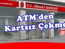Ziraat Bankası ATM'den Kartsız Para Çekme Nasıl Olur?