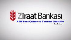 Ziraat Bankası ATM Para Yatırma ve Çekme Limitleri, Bankamatik Limiti