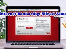 Ziraat Bankası İnternet Bankacılığı Şifre Alma, Ziraat İnternet Şifresi