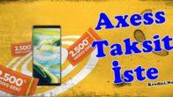 Akbank Axess Kart Harcamasını Taksitlendirme (Taksit İste)