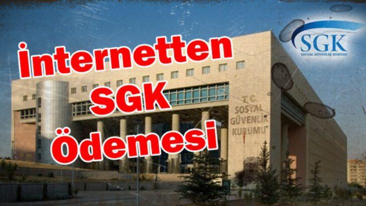 İnternet bankacılığı ile SGK prim ödemesi yapmak?