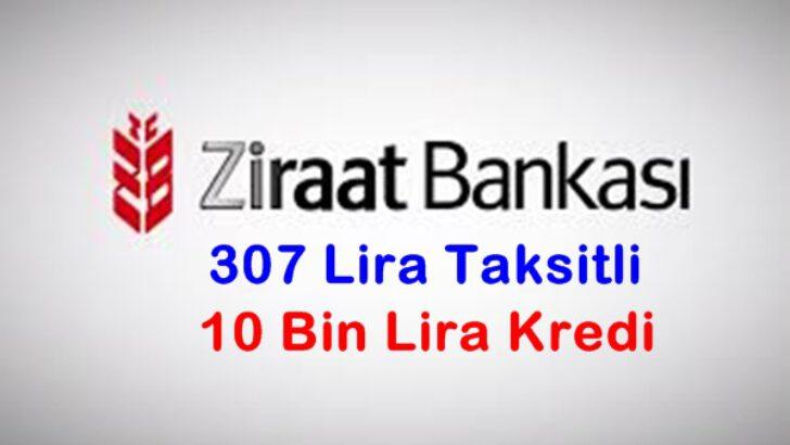 Ziraat Bankası 10 Bin Lira Kredi Hesaplaması (Örnek Kredi Hesaplama)