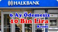 Halkbank Coronavirüs Bireysel İhtiyaç Kredisi Başvurusu